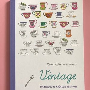 Accessories - NEW Coloring for Mindfulness VINTAGE Book